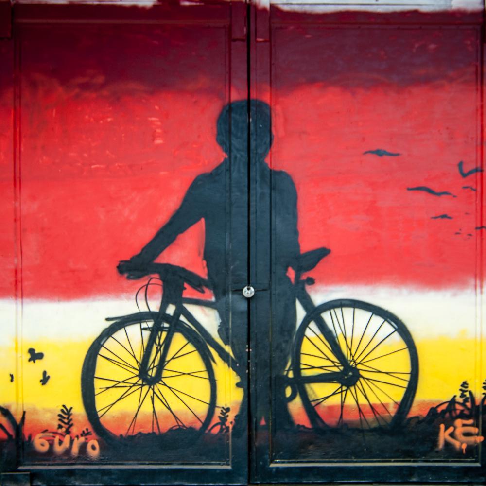 Graffiti am alten Güterbahnhof in Heiligenhaus - 2