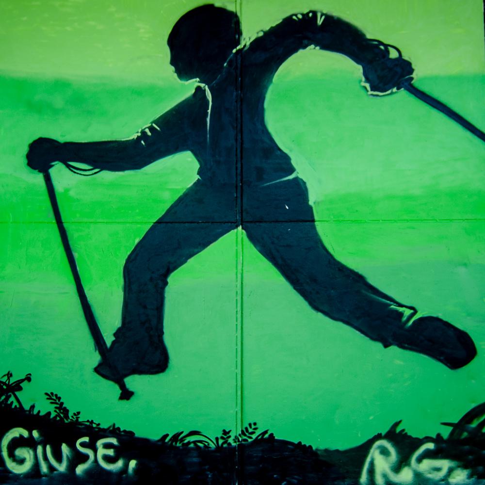 Graffiti am alten Güterbahnhof in Heiligenhaus - 3