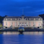 Schloss Benrath (Düsseldorf) als HDR Nachtaufnahme