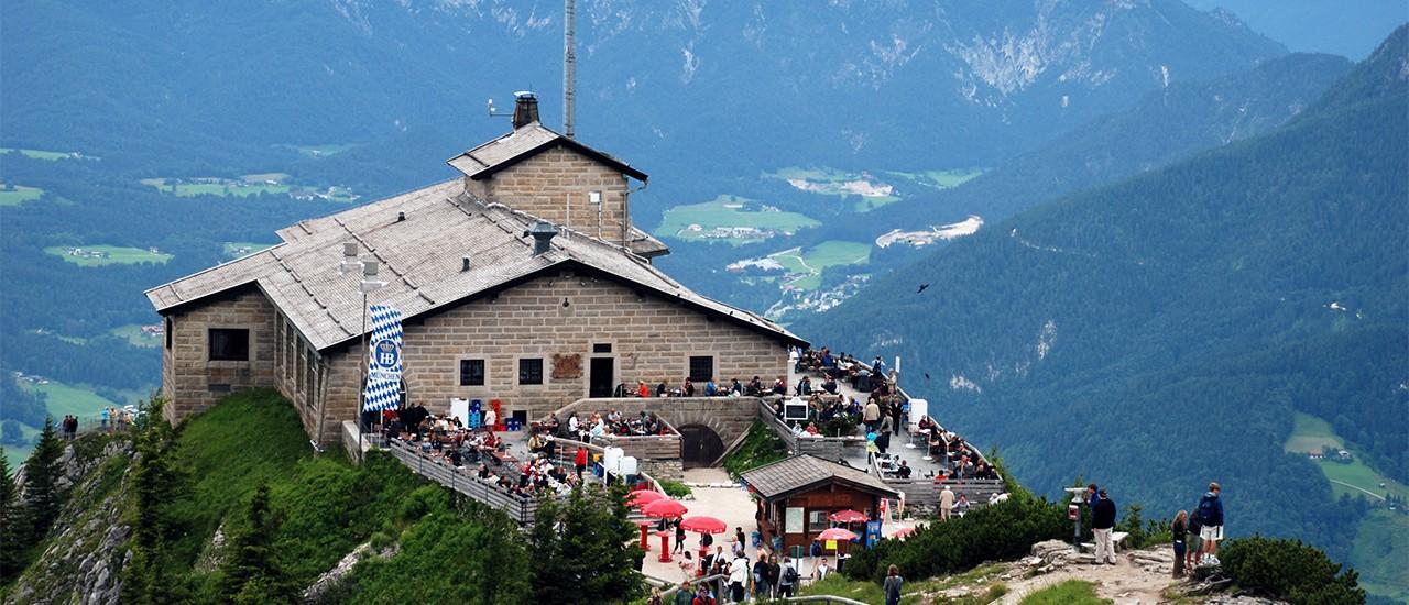 Das Kehlsteinhaus auf dem Obersalzberg in Berchtesgaden