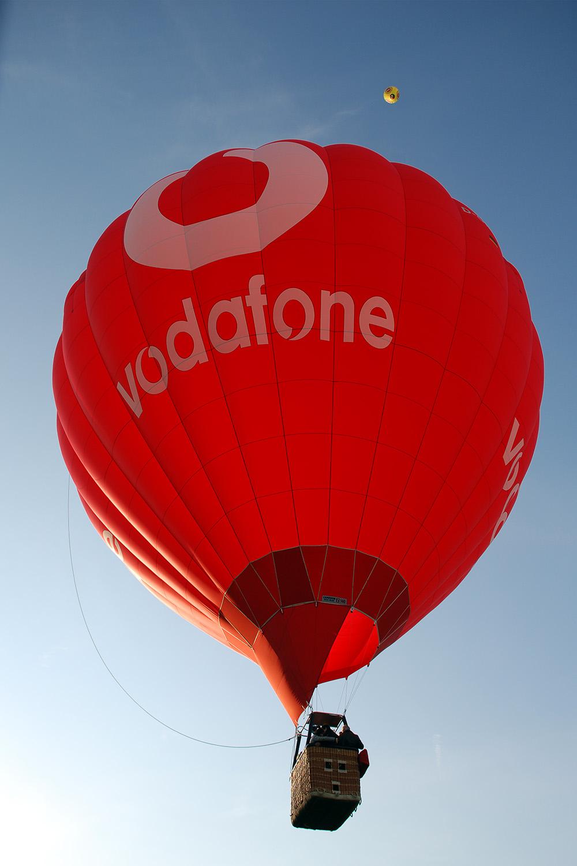 Ballon Vodafone D-OMOB