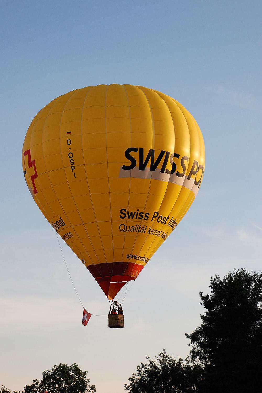 Ballon SwissPost D-OSPI